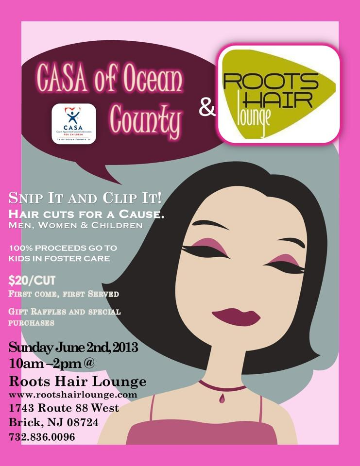 CUT A THON to benefit CASA